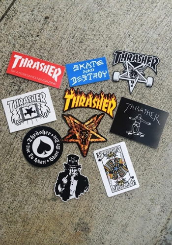 Sticker Thrasher 10 Pack