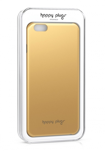 Case Happy Plugs Deluxe iPhone 6 Slim Gold