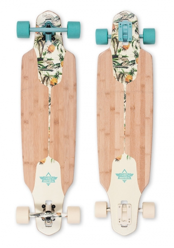 Komplett Longboard Dusters Channel Hawaiian 9.375