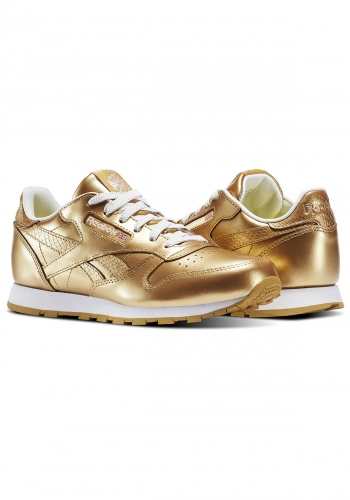 (y) Schuh Reebok Classic Leather Metallic