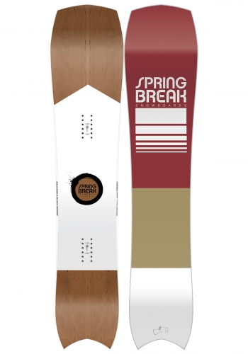 Snowboard Capita Spring Break Tree Hunter 161