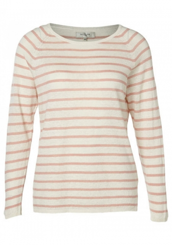 (w) Pulli Selected Nive Stripe Strick