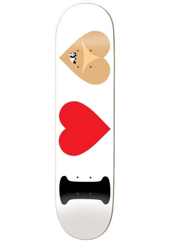 Deck Enjoi Team I Heart Hearts 8.375
