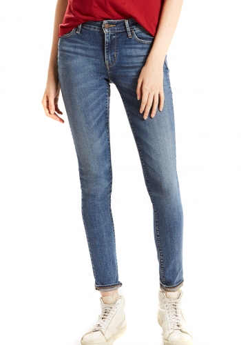 (w) Jeans Levi's® 711 Skinny Antiqued