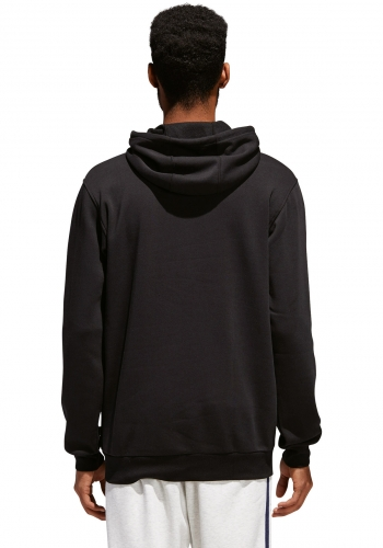 Hooded Adidas Solid Blackbird