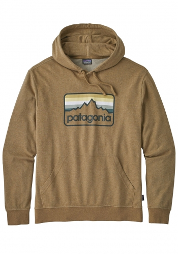 Hooded Patagonia Line Logo Badge