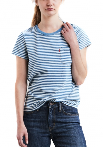 (w) T-Shirt Levi's® The Perfect Tee Pocket