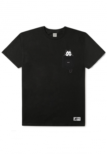 T-Shirt HUF x Felix the Cat Watching Pocket