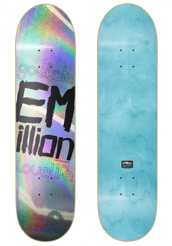 Deck Emillion Go Skate Love Life 8.125