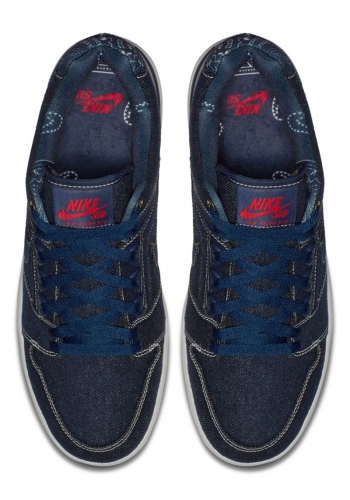 Schuh Nike SB Air Force II Low Denim Pack
