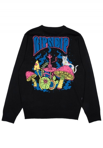 Pulli Rip N Dip Psychedelic Knit
