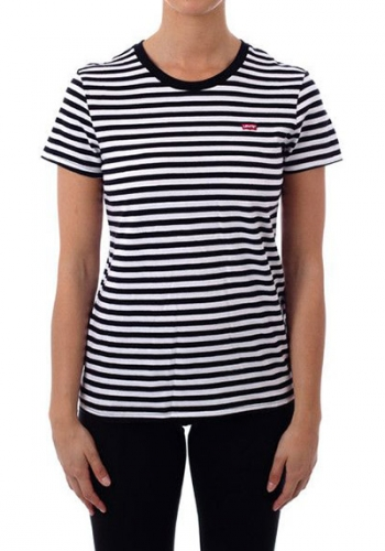 (w) T-Shirt Levi's® The Perfect Tee Liza Stripe