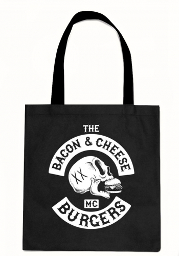 Tasche The Dudes Bacon Cheese Burgers