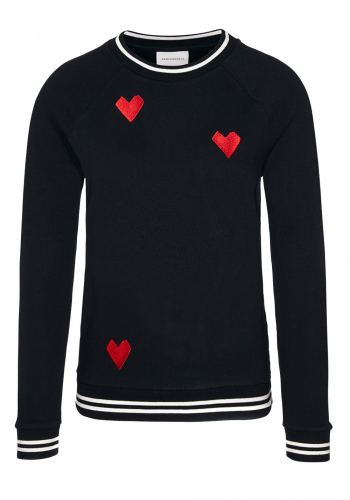 (w) Pulli Armedangels Roomy Stiched Hearts