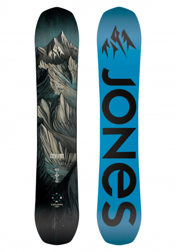 Snowboard Jones Explorer 164 Wide