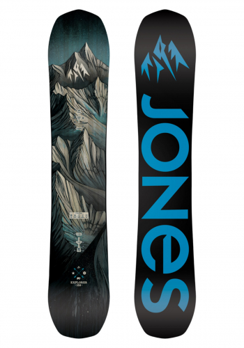 Snowboard Jones Explorer 158 Wide