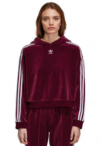 (w) Hooded Adidas Cropped