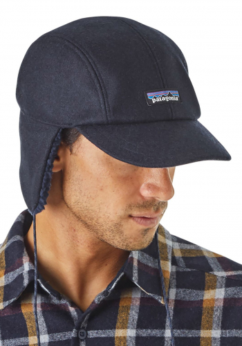 Mütze Patagonia Recycled Wool Ear Flap Cap