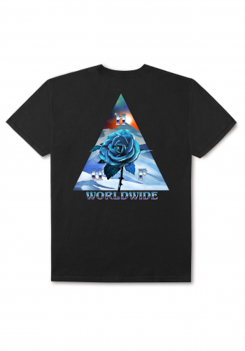 T-Shirt HUF Ice Rose Triangle