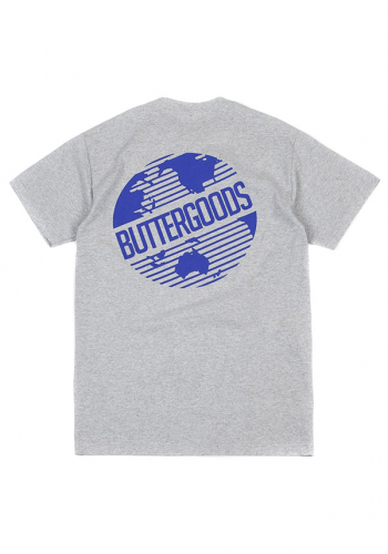 T-Shirt Butter Goods Axis Worldwide Logo