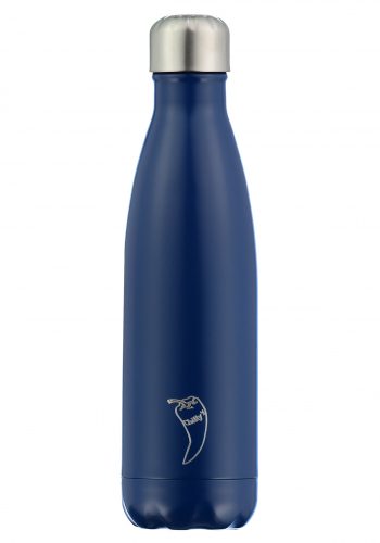 Isolierflasche Chilly´s Matte Blue 500ml