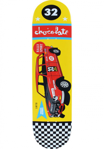 Deck Chocolate Alvarez Rally Car 8.0