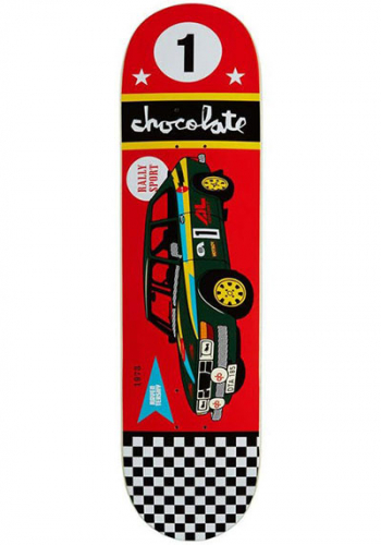 Deck Chocolate Tershy Rally Car 8.25