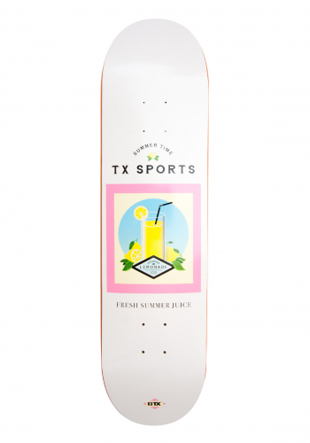 Deck TX Lemonade White 8.25