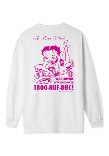 Longsleeve HUF x Betty Boop Live Wire