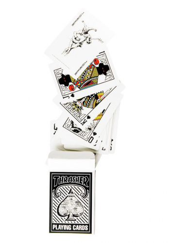 Spielkartenset Thrasher Playing Cards