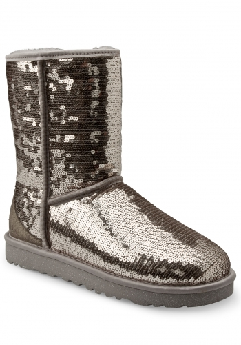 (y) Schuh UGG Classic Short Sparkles