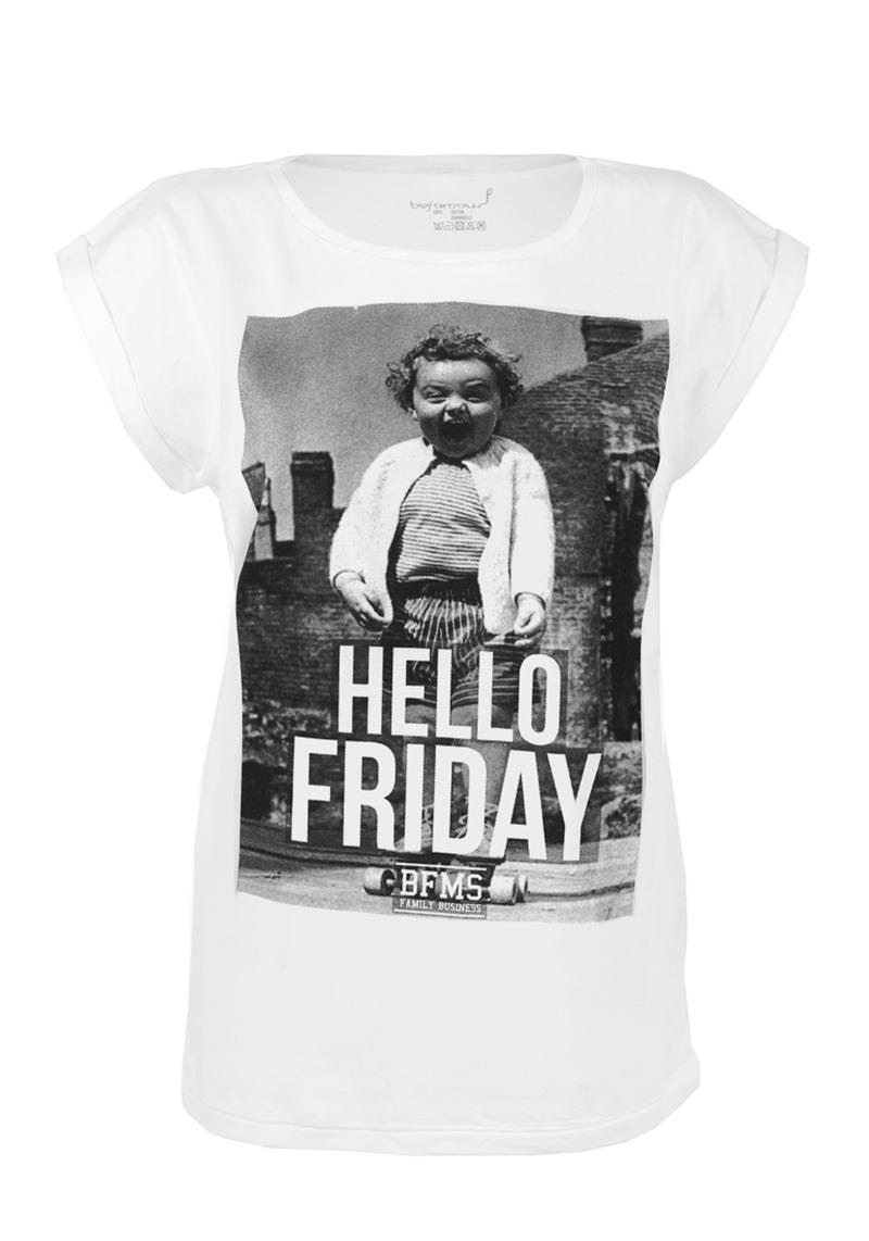 (w) T-Shirt Be Famous HeFriday - Größe: XS