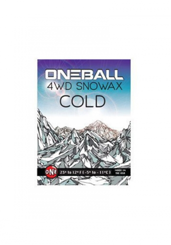Snow Wax Oneball 4WD Cold