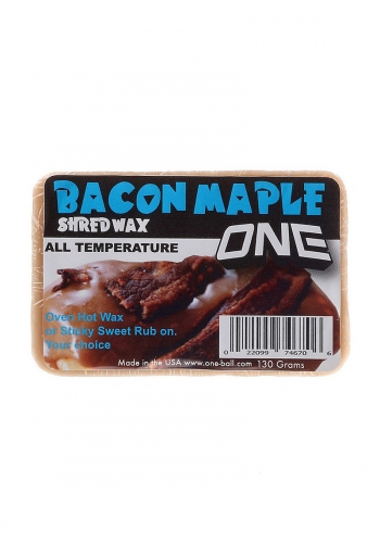 Snow Wax Oneball Maple Bacon Bar