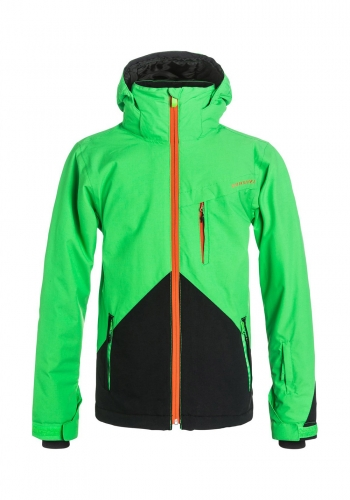 (y) Snowjacket Quiksilver Mission Colorblock