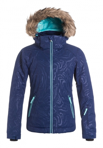 (y) Snowjacket Roxy Jet Ski Girl Solid