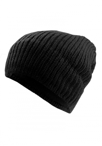 (w) Beanie Be Famous Knit