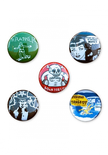 Pin Thrasher Usual Suspecters 5er Set