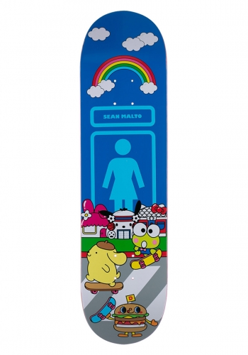 Deck Girl Malto Sanrio World 8.125