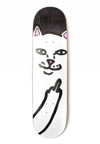 Deck Rip N Dip Lord Nermal Black 8.2