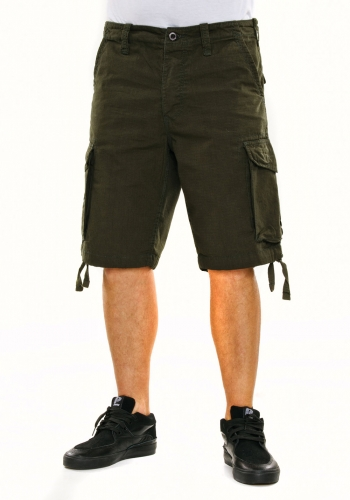 Short Reell New Cargo forest green