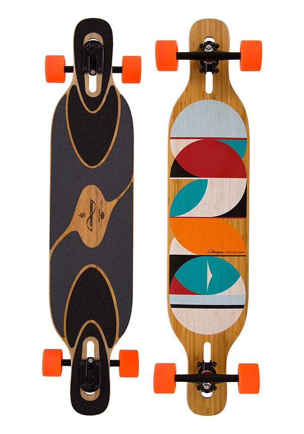 Longboard Loaded Dervish Sama Flex 1
