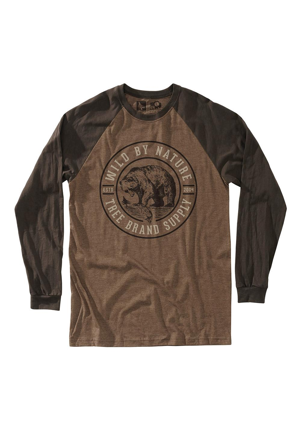 Longsleeve Hippytree Grizzly