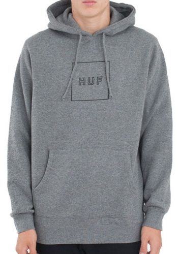 Hooded HUF Outline Box Logo