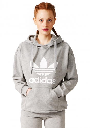 (w) Hooded Adidas Trefoil