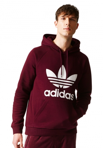 Hooded Adidas Trefoil