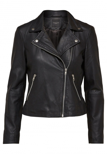 (w) Jacke Selected Marlen Leather