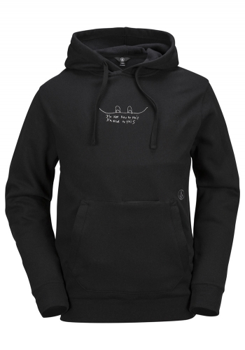 Snow Hooded Volcom JLA Pullover Fleece