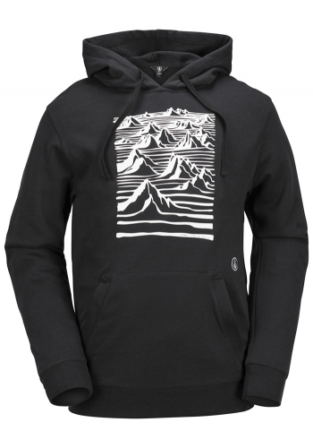 Snow Hooded Volcom Team Art Fleece