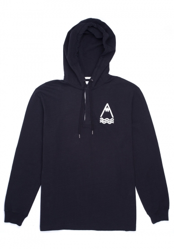 Hooded Laser All Black Polo